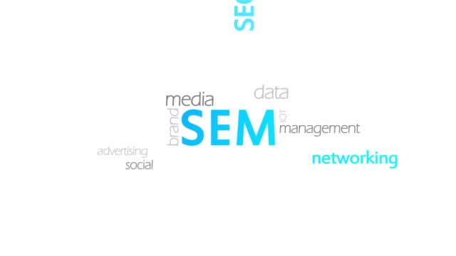 SEM, Search Engine Marketing SEM, Search Engine Marketing, high quality www stock videos & royalty-free footage