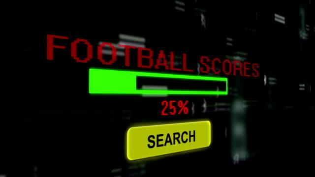 stockvideo's en b-roll-footage met zoek voor voetbal score - kampioenschap