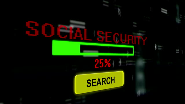 search for social security - fraud stock videos & royalty-free footage