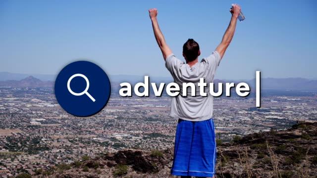 поиск приключения - google стоковые видео и кадры b-roll