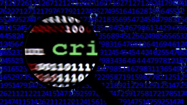オンライン犯罪者を検索 - なりすまし犯罪点の映像素材/bロール