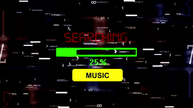 Searching for music online video