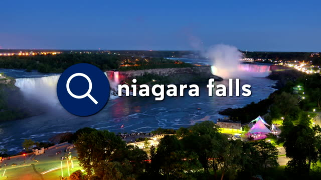Searching for Niagara Falls Timelapse video