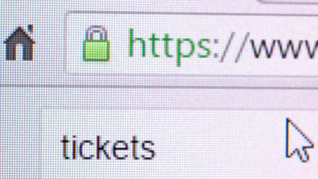 Searching for online tickets video