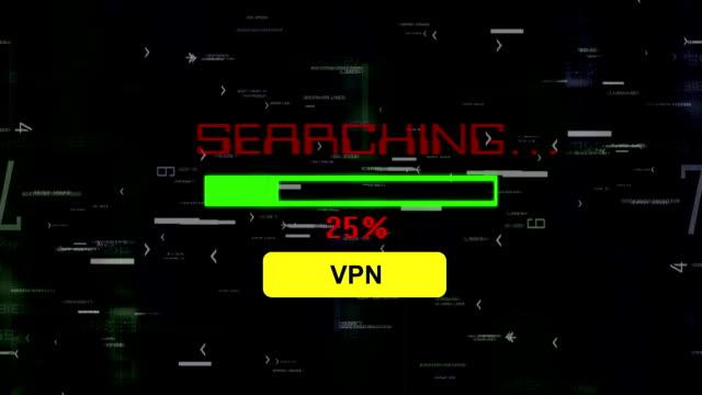 söka för virtuellt privat nätverk vpn - vpn bildbanksvideor och videomaterial från bakom kulisserna