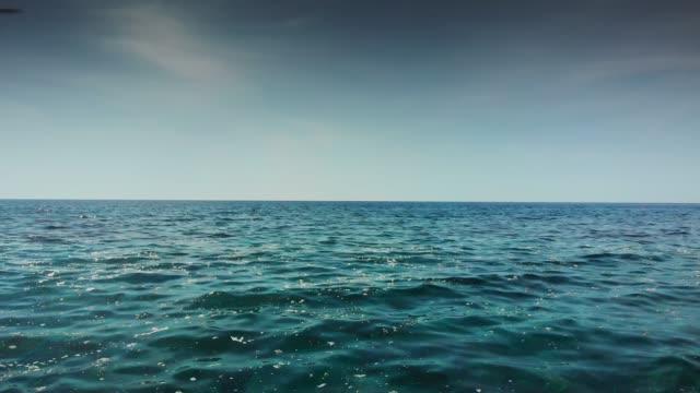 Seascape against sky