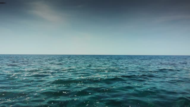 seascape against sky - mediterranean sea stock videos & royalty-free footage