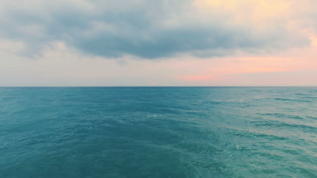 seascape in early morning video