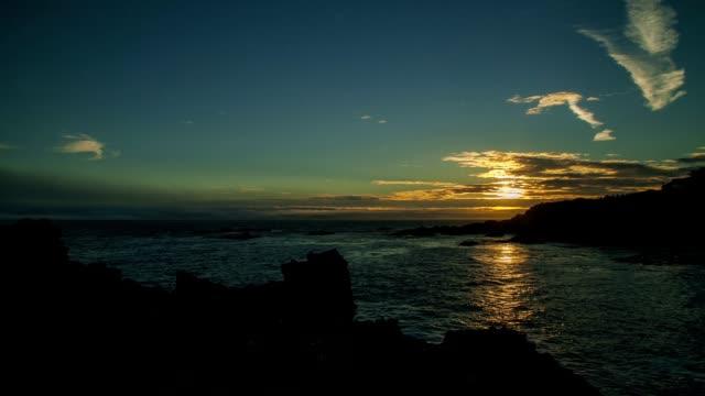 Seashore Time Lapse Sunset video