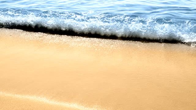 Seashore waves - loopable video