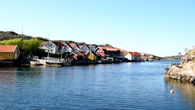 seaside village - summer sweden bildbanksvideor och videomaterial från bakom kulisserna