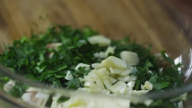 Seasoning Garlic and Parsley video