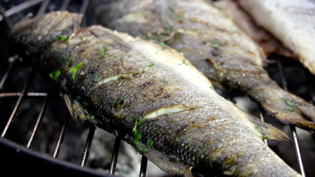 CU DS Seasoning The Fish With Parsley video