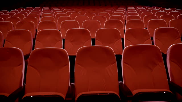 Seats in Theater Performance Center Seats in Theater Performance Center seat stock videos & royalty-free footage
