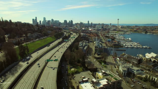 Seattle Aerial video