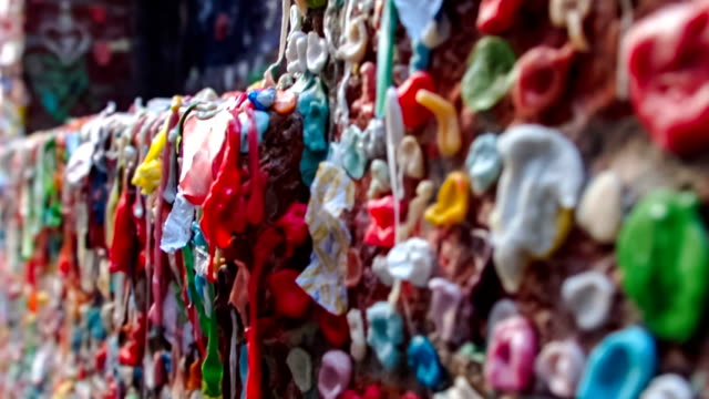 Seattle Gum Wall video
