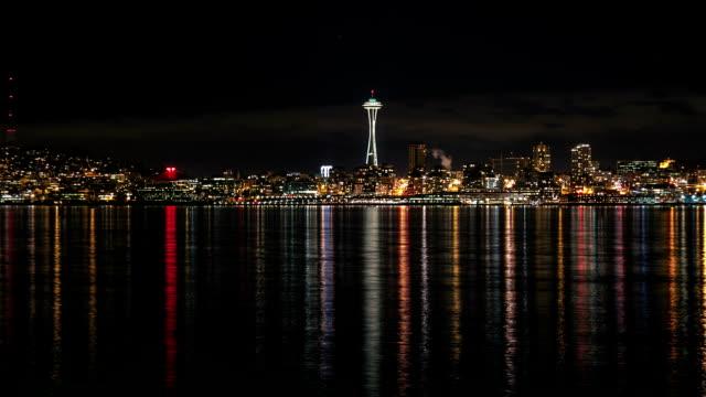 Seattle Night Time Lapse