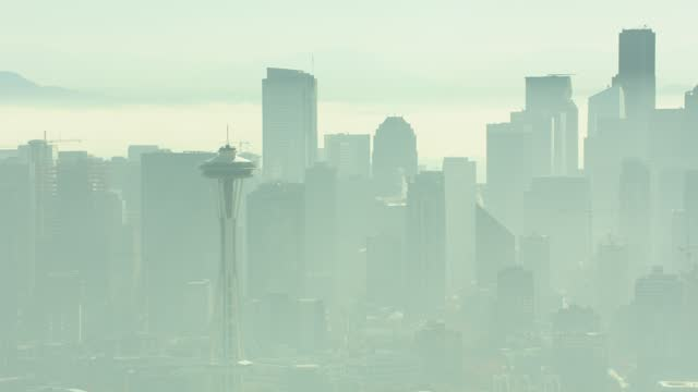 Seattle, USA – July 21, 2020: Space Needle Building video