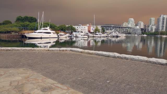 Seawall, False Creek, Marina, Granville Island video