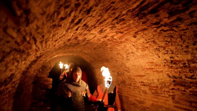 Secret knights Templar tunnels