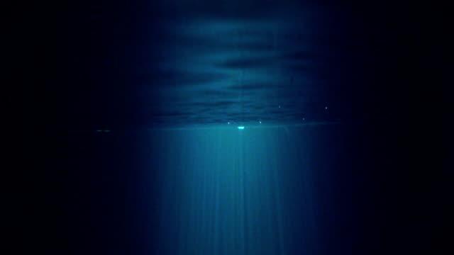 Secret underwater scenery