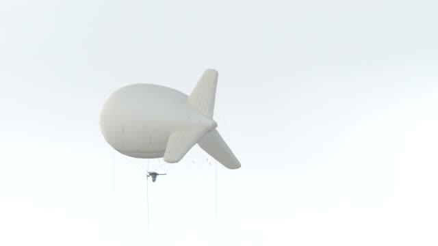 güvenlik uçakları - zeplin stok videoları ve detay görüntü çekimi