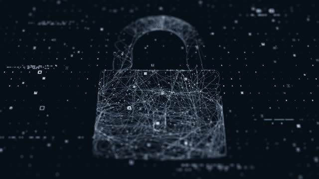 security lock display - цп стоковые видео и кадры b-roll