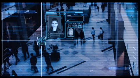 stockvideo's en b-roll-footage met security scan - gewone snelheid