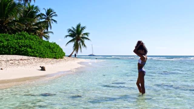 Seductive Caribbean woman