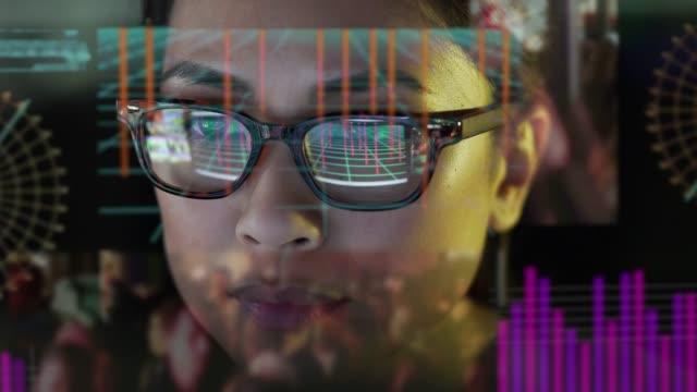 See-thru data screen watcher.