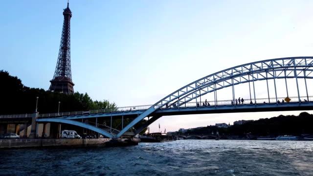 Seine river and Debilly Bridge