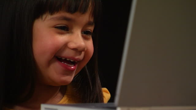 Selena's Laptop Computer - Laughing video