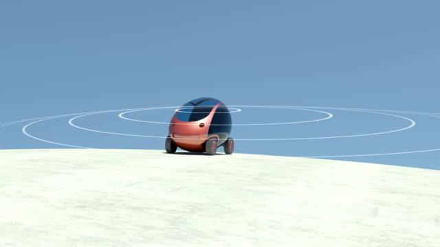 Self driving, autonomous car. video