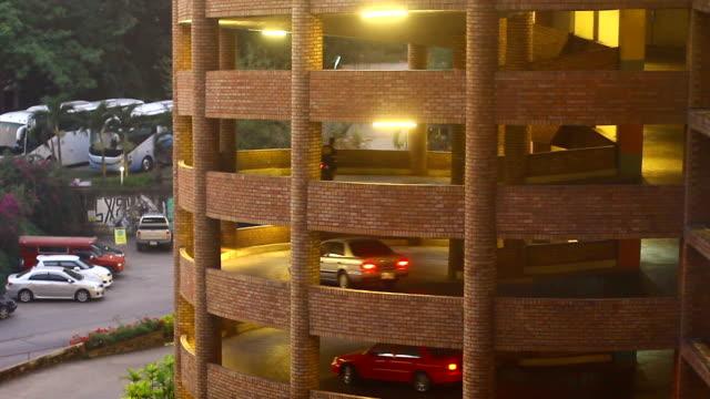 Self parking garage structure video