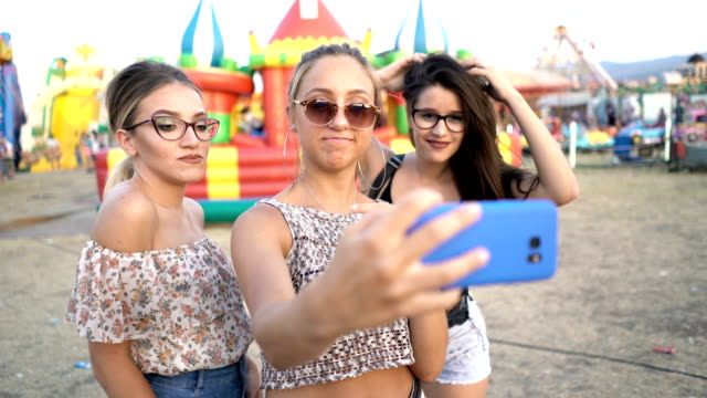 Selfie At The County Fair