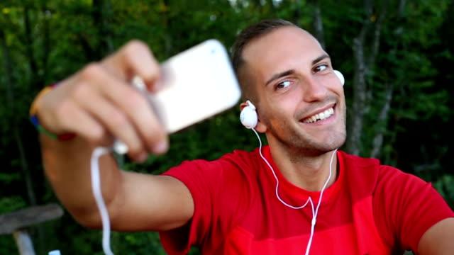 Selfie before training video