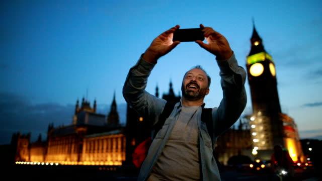 Selfie with the Big Ben video