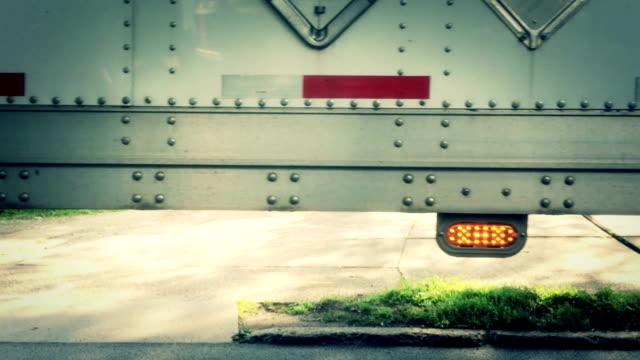 Semi Truck Detail video