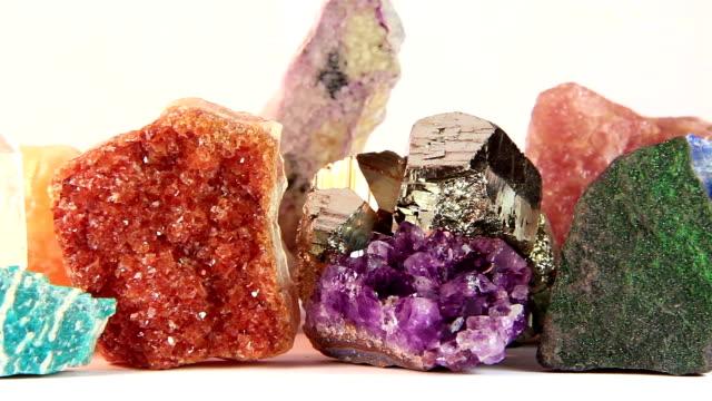 Semiprecious stone video