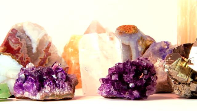 Semiprecious stones video