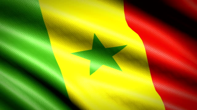 Senegal Flag. Seamless Looping Animation. 4K High Definition Video Senegal Flag. Seamless Looping Animation. 4K High Definition Video senegal stock videos & royalty-free footage