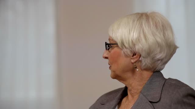Senior Businesswoman video