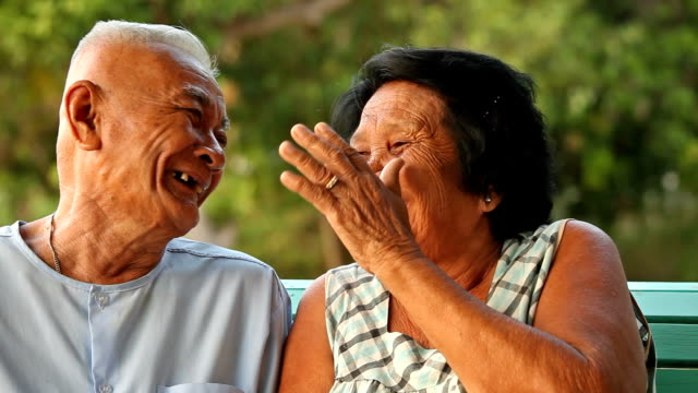 Senior Couple Relaxing video
