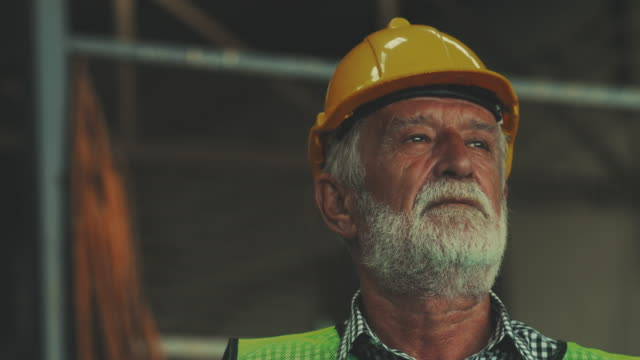 Senior engineer speech Leadership metallurgy stock videos & royalty-free footage