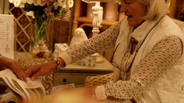 Senior Entrepreneurs in Furniture Store video