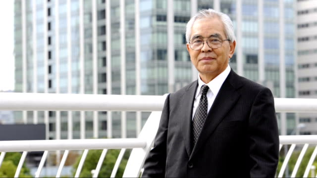 Senior Executive Senior Executive crossing his arms ceo stock videos & royalty-free footage