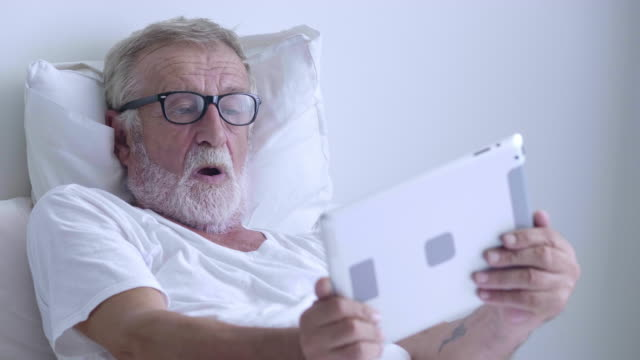 Senior men playing tablet Car arts culture and entertainment stock videos & royalty-free footage