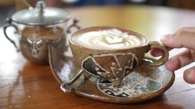 Senior woman drinking coffee Woman, Drinking, coffee coffee break stock videos & royalty-free footage
