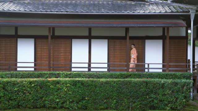 Senior woman in a Kimono video