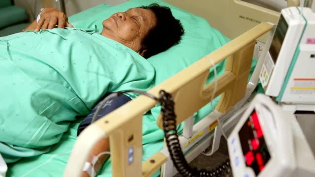 Senior woman patient video